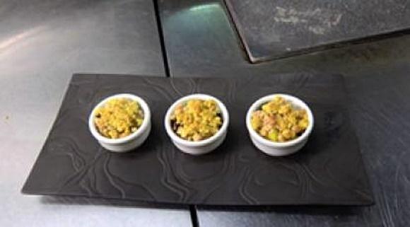Poulet Au Curry Croustillant D'Avoine Au Parmesan