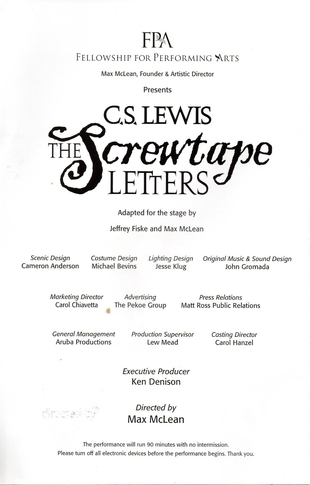 Give me a summary of screwtape letters?
