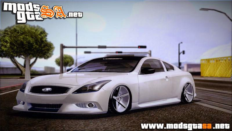 SA - Infiniti G37 IPL Coupe VIP Style