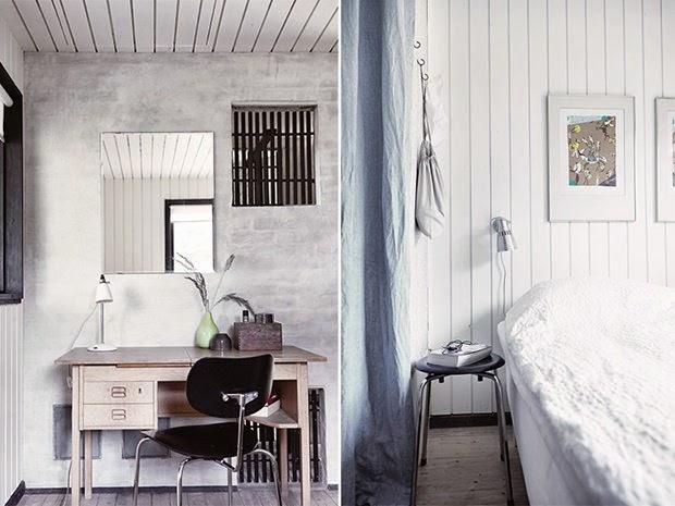 dormitorio blanco-negro