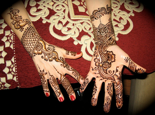 Mehndi Party List : Beautiful mehndi designs party fashion week