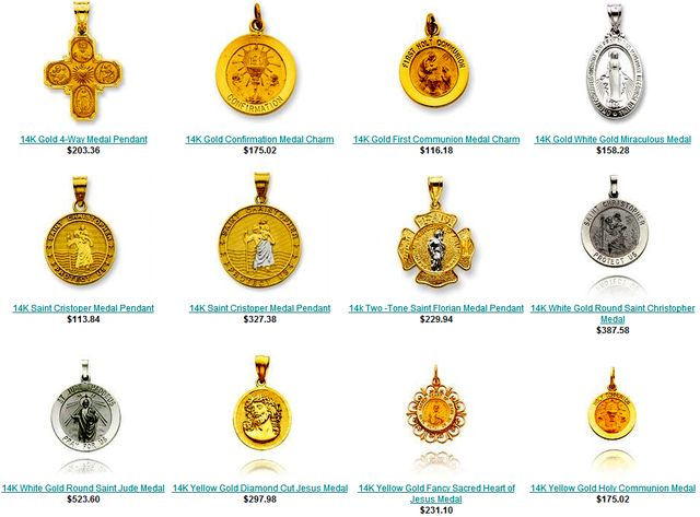 Patron Saints Medals