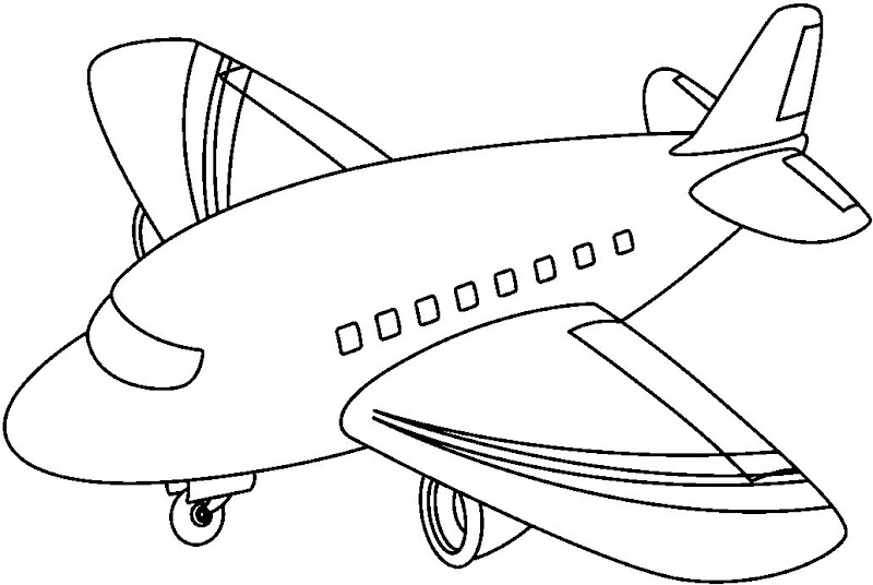 desenhos de transportes aéreos para colorir desenhos para colorir