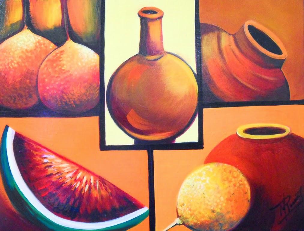 Cuadros modernos pinturas y dibujos serie de laminas de - Cuadros modernos faciles de pintar ...
