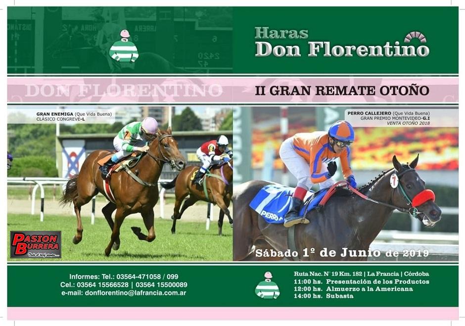 DON FLORENTINO - REMATE 1 JUNIO