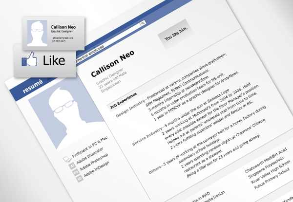 Facebook_Style_Resume
