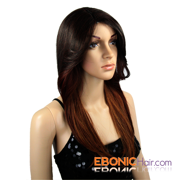 wig cap, there are three wig clips, which help fix invisible part ...
