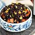 Kavrulmuş Tatlı Patates ve Fıstıklı Siyah Venüs Pirinç Salatası