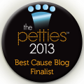 The Petties 2013 Best Cause Blog Finalist