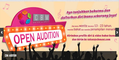 Open Audition CBM Entertainment: Manajemen Cherrybelle