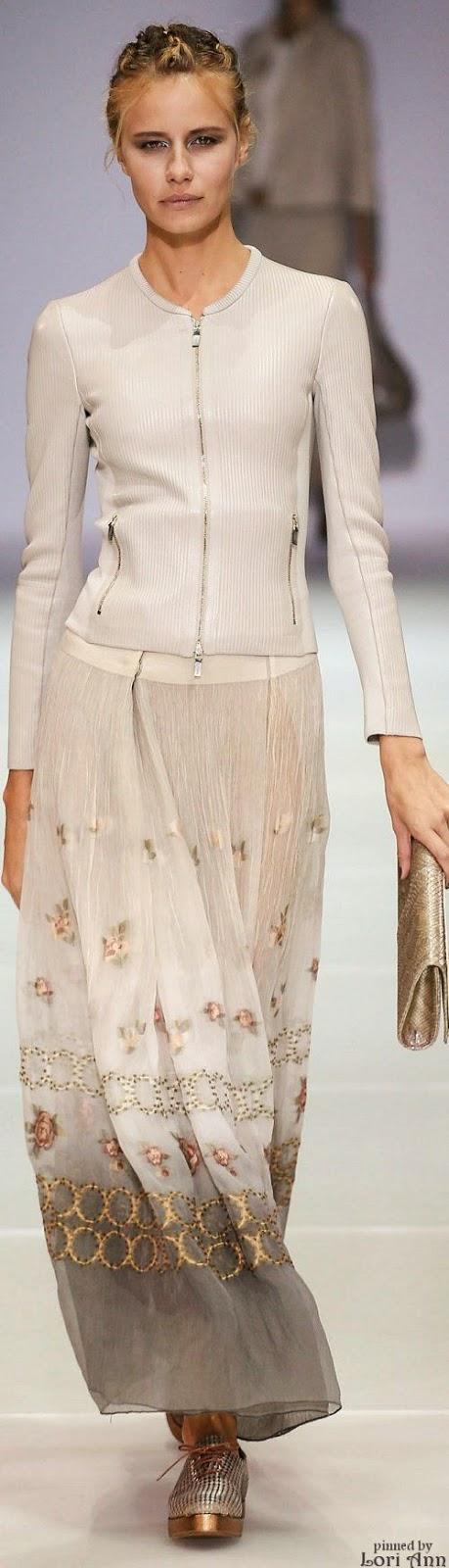 Tendências moda primavera-verão 2015 transparentes e fluidos