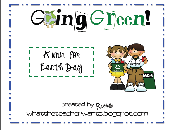http://www.teacherspayteachers.com/Product/Earth-Day-Mini-Unit-Freebie-214150