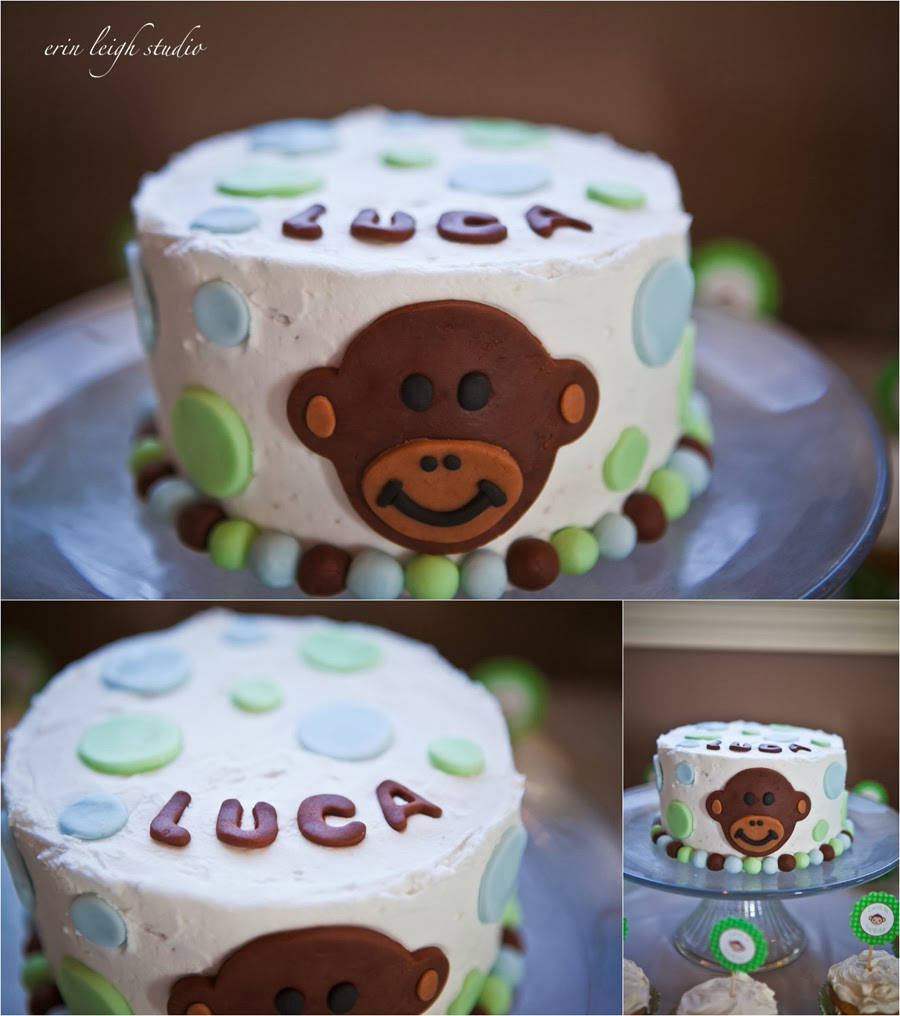 Monkey themed 1st Birthday Party