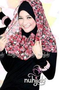 Nuhijab Manset - Black (Toko Jilbab dan Busana Muslimah Terbaru)