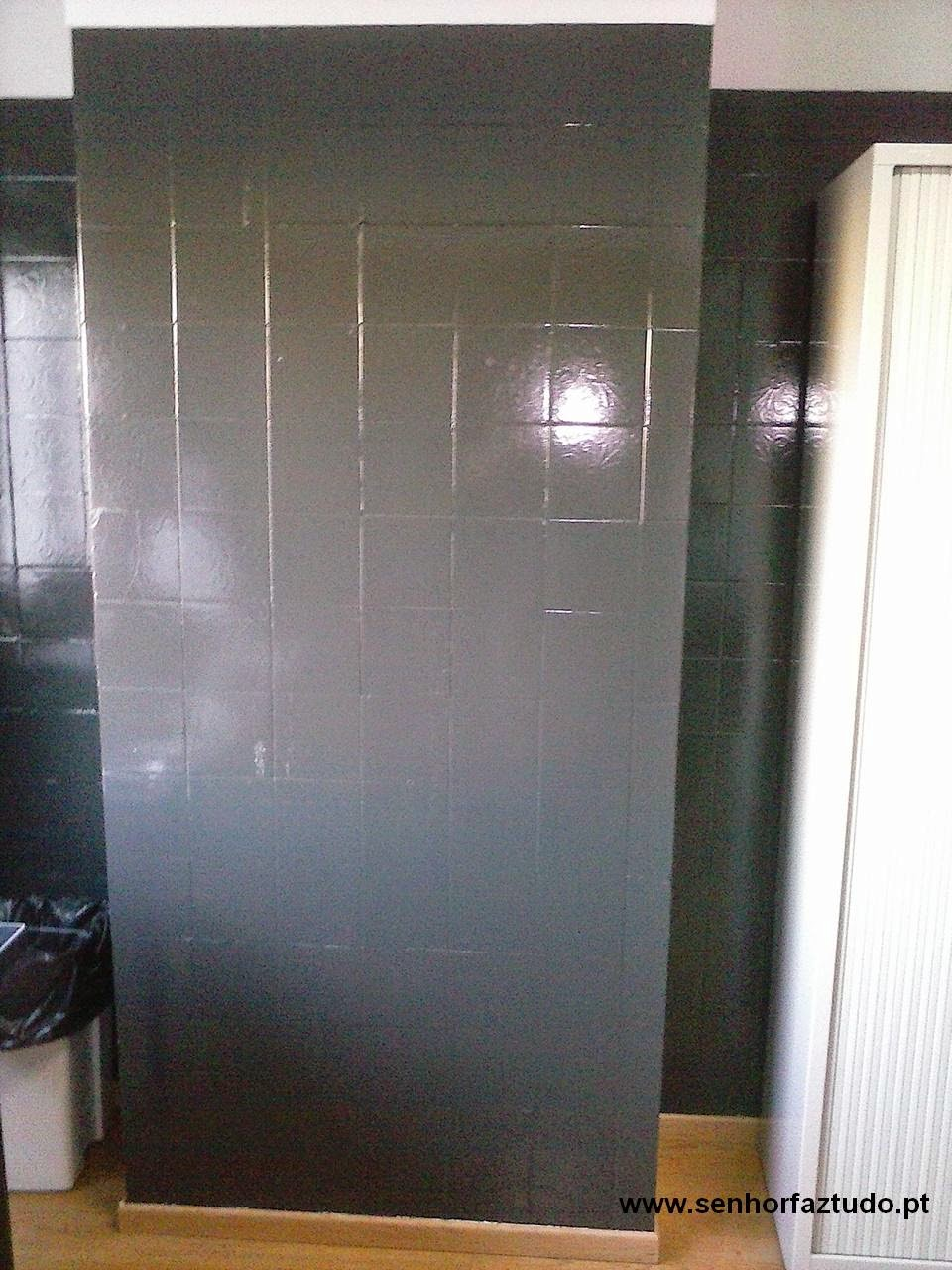 Senhor faz tudo faz tudo pelo seu lar pintura de - Pintura para azulejo ...
