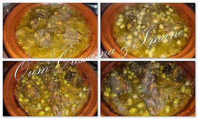 طاجين اللحم بالبصلة و الزيتون 3