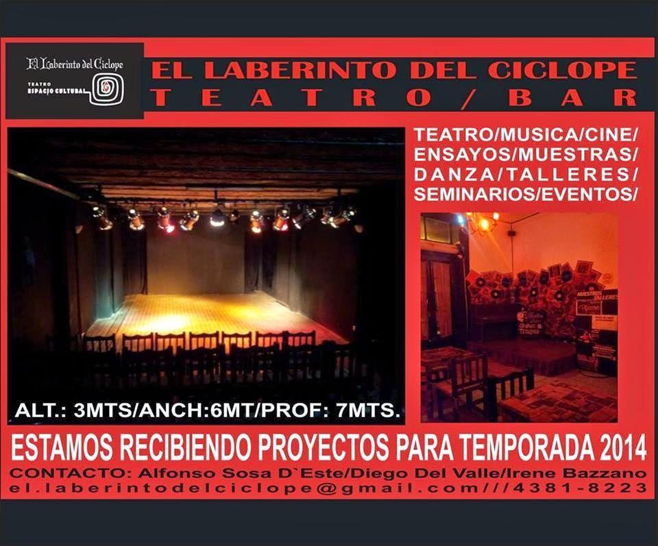 EL LABERINTO RECIBE PROYECTOS!!!