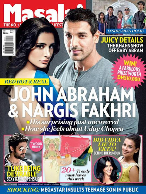 Nargis Fakhri Masala Magazine
