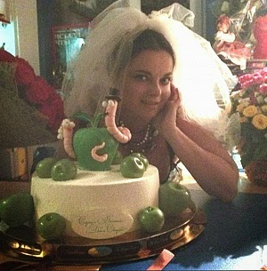 Natasha Koroleva said a big wedding anniversary