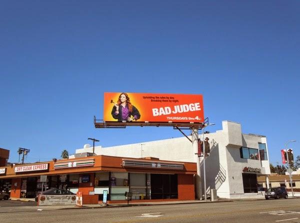 Bad Judge NBC billboard