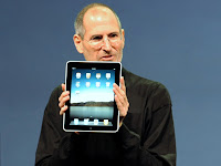 steve jobs and the ipad 2 plus
