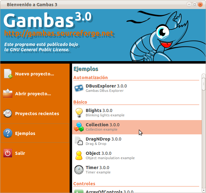 Gambas3 Pemrograman Visual Pengganti Visual Basic