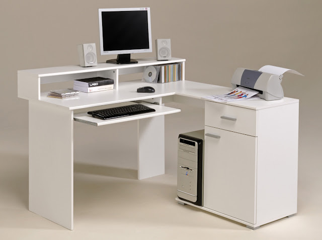 White Computer Desks