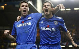 Terry e Lampard, veteranos do Chelsea