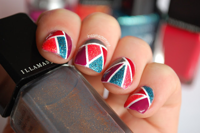 Mosaic Nail Art Tutorial