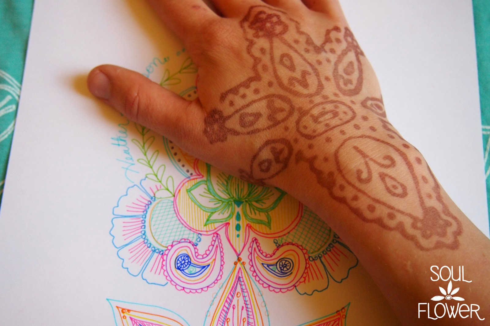 your own henna design - How to Create a Henna Design