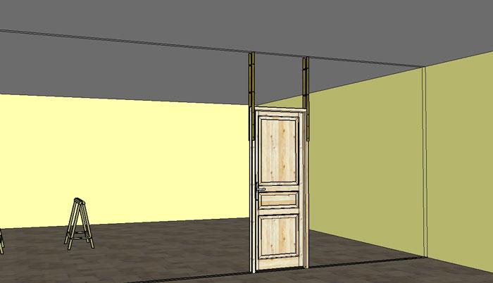 cloison en carreaux de pl tre comment faire. Black Bedroom Furniture Sets. Home Design Ideas