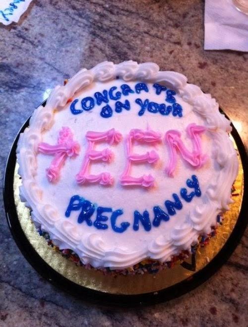 Felicitaciones tu embarazo adolescente