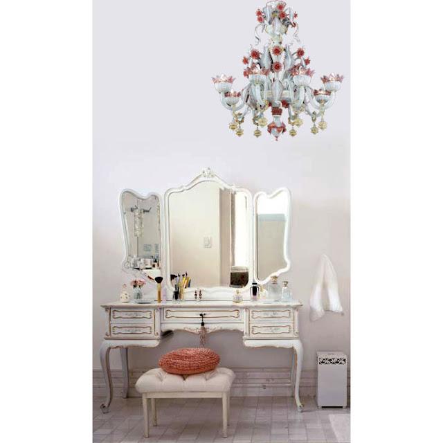 lampadari shabby : Mobili Shabby Chic Atelier myArtistic: Shabby chic chandelier ...