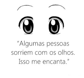 Sorrir com os olhos