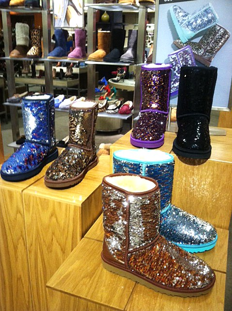 Sequin UGG Boots in Colors