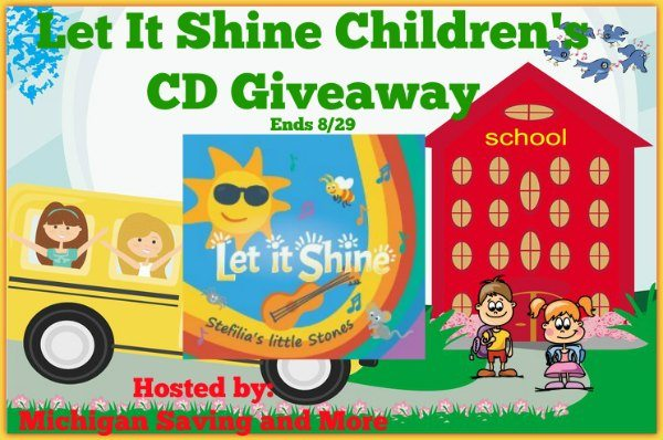 Let It Shine Children's CD Giveaway