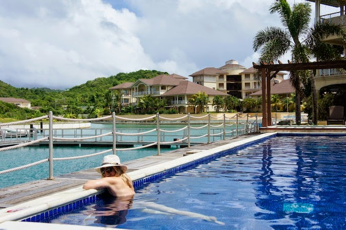 Boston Travel Blogger, Boston Travel Blog, The Landings St. Lucia, St. Lucia vacation