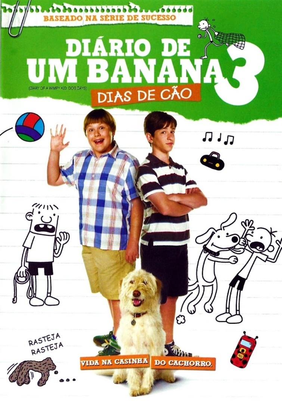 Diário de um Banana 3: Dias de Cão – Dublado (2012)