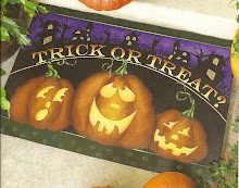 Trick or Treat Floorcloth