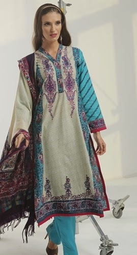 Alkaram RTW Winter Collection 2014-15