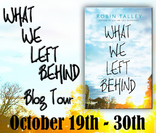 What We Left Behind by Robin Talley | Blog Tour Guest Post