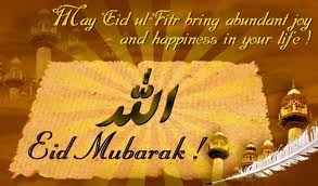 Eid ul Fitar is celebrated on the birthday of Mohammad Pagamba sahab