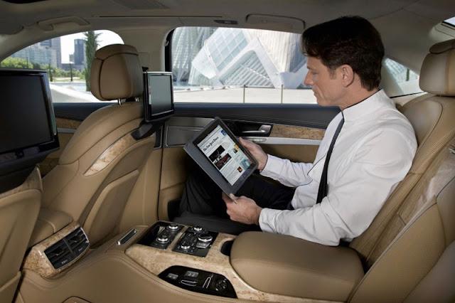 2012 Audi A8 L W12 Back sit Interior
