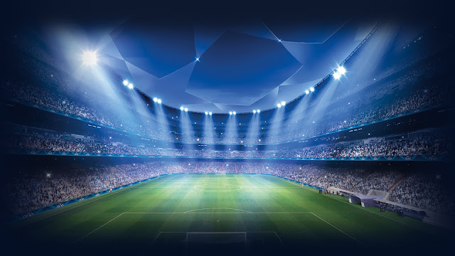 Champions League Stadium Football Sports Game HD Wallpaper