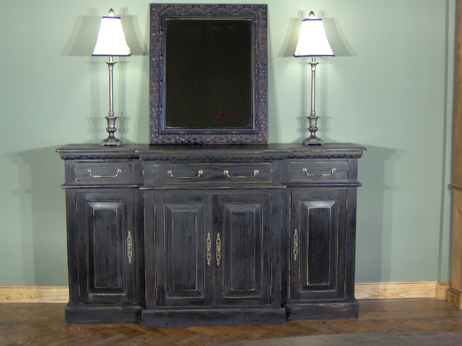 Of The Habersham Buffets Above Are Made From Pine Wood With Painted . Full resolution  portrait, nominally Width 1600 Height 1200 pixels, portrait with #876D45.