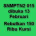 Pendaftaran SNMPTN dibuka 13 Februari 2015 dengan Perebutan 150 Ribu Kursi