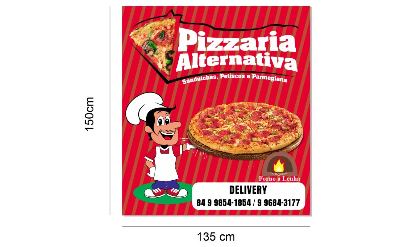 A PIzza mais gostosa do Alto