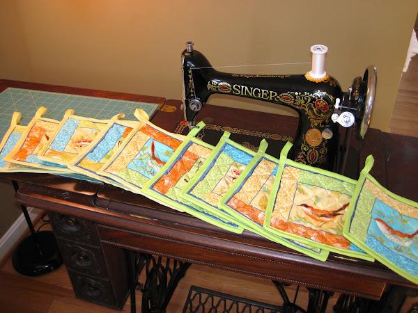 Treadle Sewing