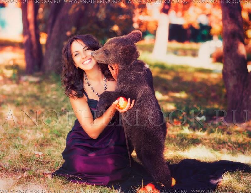 Фотосессия с медведями