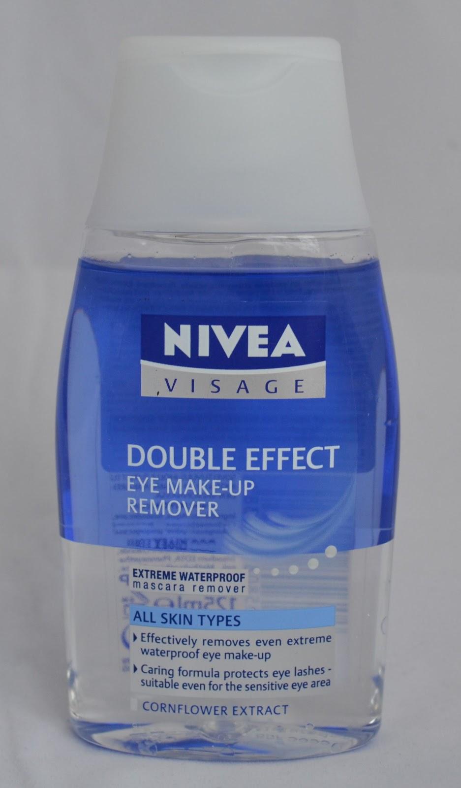 Eye Make Up Remover Miss L Nivea Double Effect Eye Make Up Remover